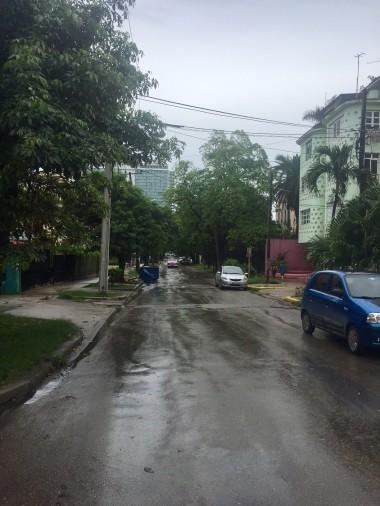 Calle 25 in Vedado