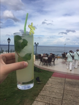 Our First Cuban Mojito!